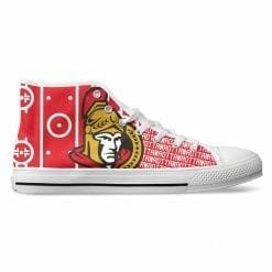 NHL Ottawa Senators High Top Shoes