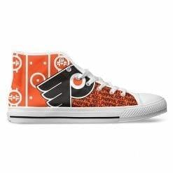 NHL Philadelphia Flyers High Top Shoes