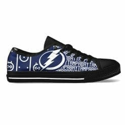 NHL Tampa Bay Lightning Low Top Shoes