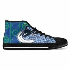NHL Vancouver Canucks High Top Shoes