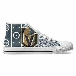 NHL Vegas Golden Knights High Top Shoes