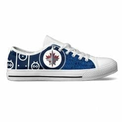 NHL Winnipeg Jets Low Top Shoes