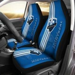 MLS Montreal Impact Pair of Car Seat Covers