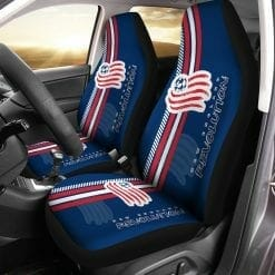 MLS New England Revolution Pair of Car Seat Covers