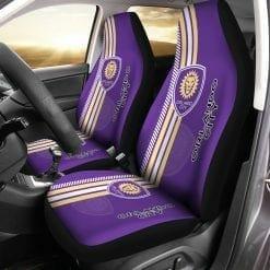 MLS Orlando City SC Pair of Car Seat Covers
