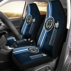 MLS Philadelphia Union Pair of Car Seat Covers