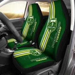 MLS Portland Timbers Pair of Car Seat Covers