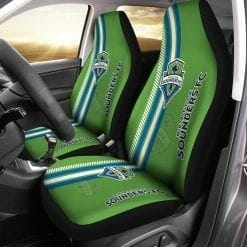 MLS Seattle Sounders FC Pair of Car Seat Covers