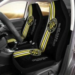 MLS Columbus Crew SC Pair of Car Seat Covers