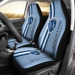 MLS Sporting Kansas City Pair of Car Seat Covers