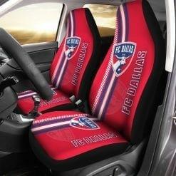 MLS FC Dallas Pair of Car Seat Covers