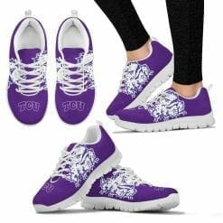 NCAA TCU Horned Frogs Running Shoes