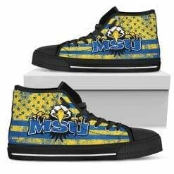 NCAA Morehead State Eagles High Top Shoes
