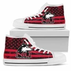 NCAA Northern Illinois Huskies High Top Shoes