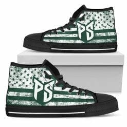 NCAA Portland State Vikings High Top Shoes