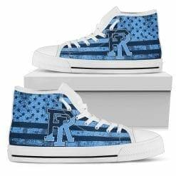 NCAA Rhode Island Rams High Top Shoes