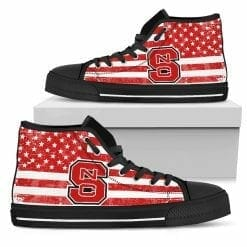 NCAA NC State Wolfpack High Top Shoes