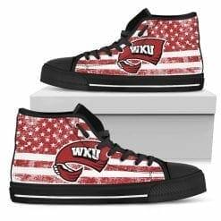 NCAA Western Kentucky Hilltoppers High Top Shoes