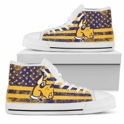 NCAA Albany Great Danes High Top Shoes