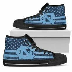 NCAA North Carolina Tar Heels High Top Shoes