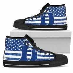 NCAA Duke Blue Devils High Top Shoes