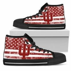NCAA Indiana Hoosiers High Top Shoes