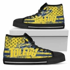 NCAA Toledo Rockets High Top Shoes