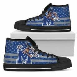 NCAA Memphis Tigers High Top Shoes