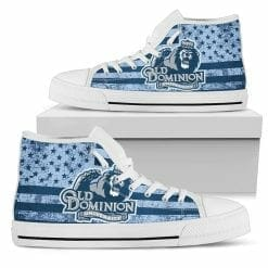 NCAA Old Dominion Monarchs High Top Shoes