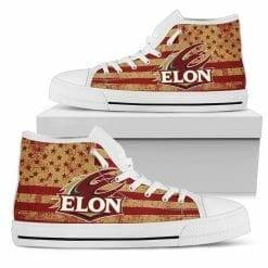 NCAA Elon Phoenix High Top Shoes