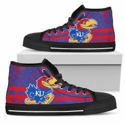 NCAA Kansas Jayhawks High Top Shoes