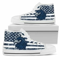 NCAA Monmouth Hawks High Top Shoes