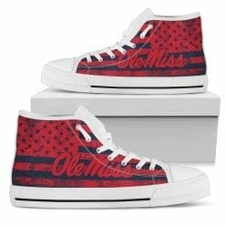 NCAA Ole Miss Rebels High Top Shoes