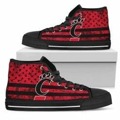 NCAA Cincinnati Bearcats High Top Shoes