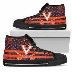 NCAA Virginia Cavaliers High Top Shoes
