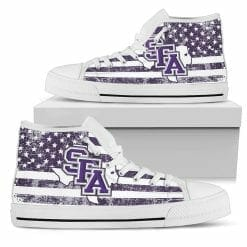 NCAA Stephen F. Austin Lumberjacks High Top Shoes