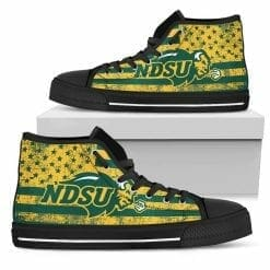 NCAA North Dakota High Top Shoes