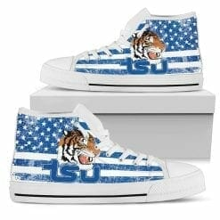NCAA Tennessee State Tigers High Top Shoes