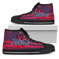 NCAA Tulsa Golden Hurricane High Top Shoes