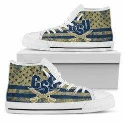 NCAA Charleston Southern Buccaneers High Top Shoes