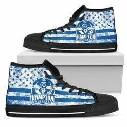 NCAA Hampton Pirates High Top Shoes