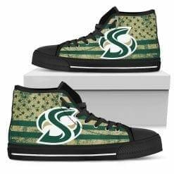NCAA Sacramento State Hornets High Top Shoes