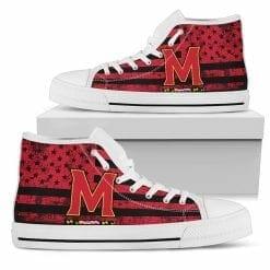 NCAA Maryland Terrapins High Top Shoes