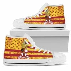 NCAA Virginia Military Institute Keydets High Top Shoes