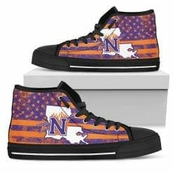 NCAA Northwestern State Demons High Top Shoes