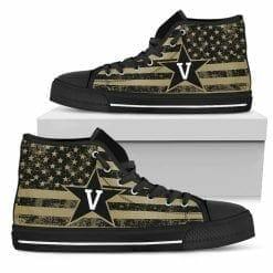 NCAA Vanderbilt Commodores High Top Shoes