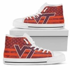 NCAA Virginia Tech Hokies High Top Shoes