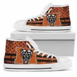NCAA Mercer Bears High Top Shoes