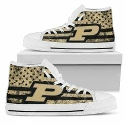NCAA Purdue Boilermakers High Top Shoes