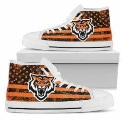 NCAA Idaho State Bengals High Top Shoes